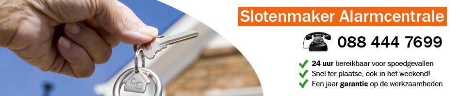 Slotenmaker Alarmcentrale Enschede