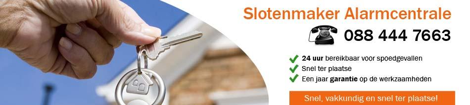 Slotenmaker Alarmcentrale Haarlem