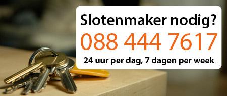 slotenmaker prijzen Rotterdam