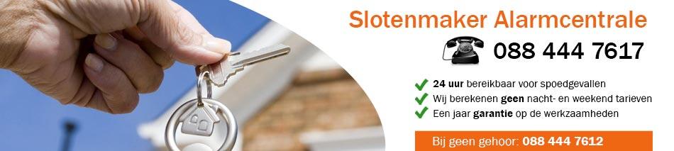 Slotenmaker Alarmcentrale Rotterdam